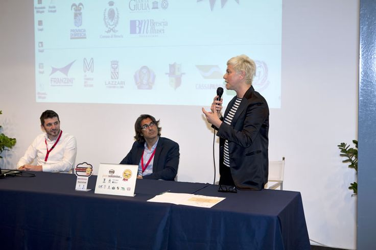 PaneSalamina organizza Paesi in Festa 2014 - Museo Santa Giulia - Brescia http://www.panesalamina.com/news/paesi-in-festa-2014 - Intervento del Vicesindaco Laura Castelletti