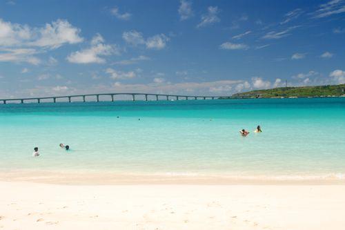 前浜ビーチ Maehama Beach Miyakojima island Okinawa