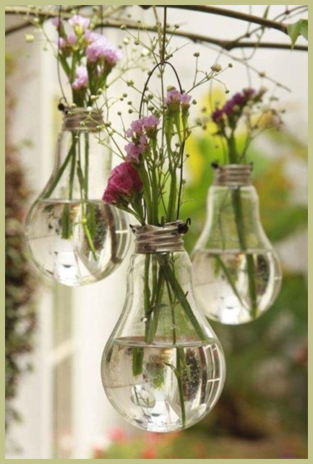 DIY :: Vasen aus ausrangierten Glühbirnen | milchmädchen.design