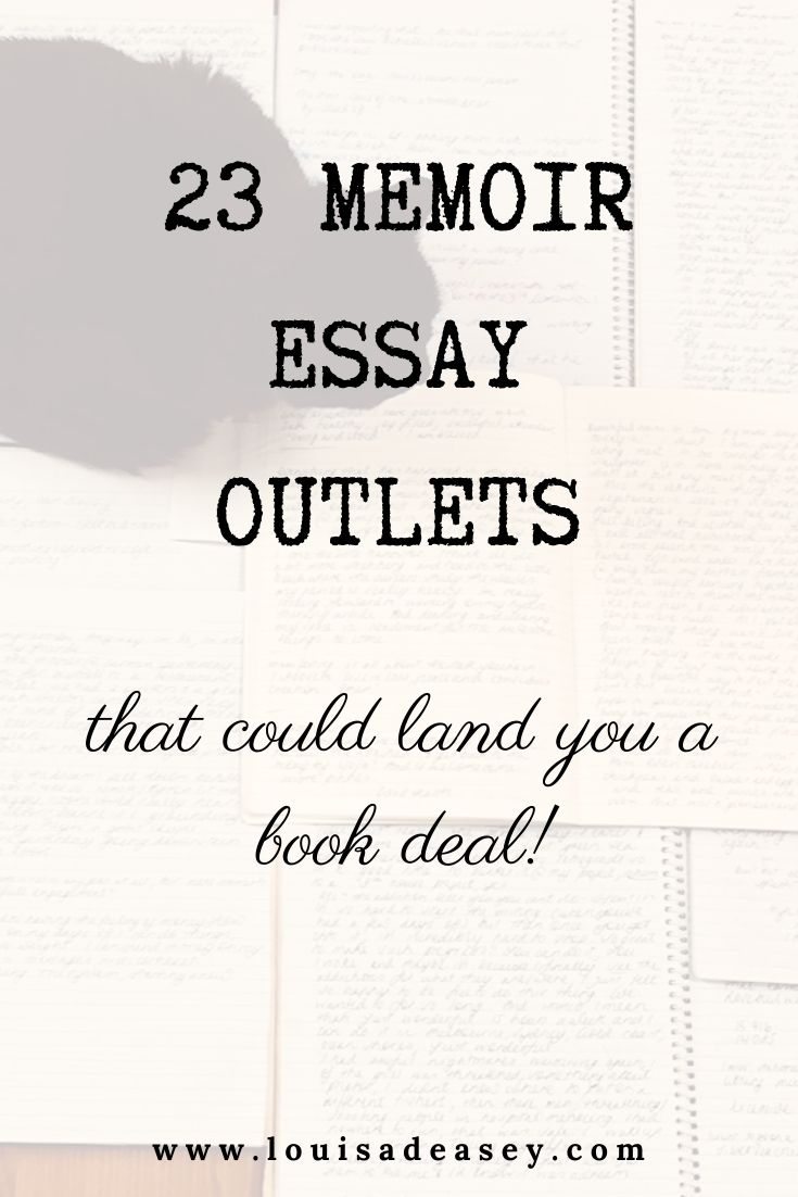 23 Top Memoir Essay Outlet In 2020 Writing Memoirs