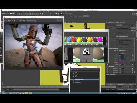 octane render for maya workflow - YouTube
