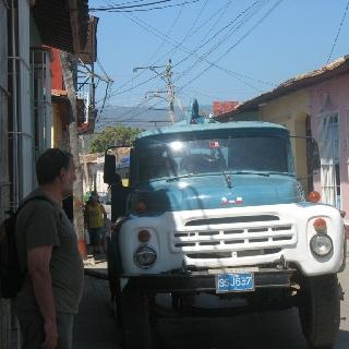 Solid truck Trinidad de Cuba