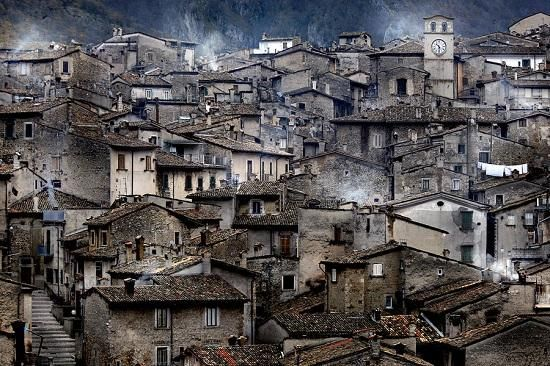 Scanno , an experience just getting there.