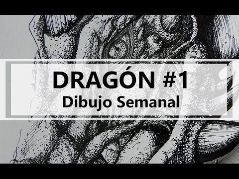 Dragón #1 / Dibujo semanal