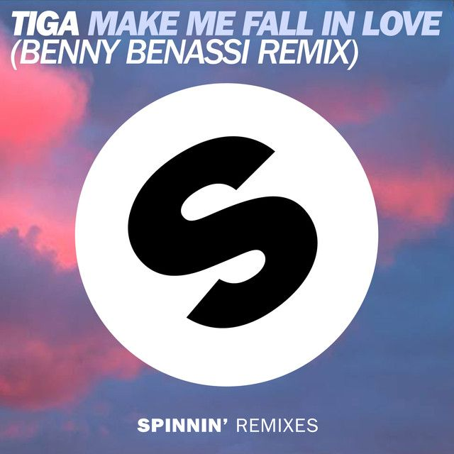 """""""Make Me Fall In Love - Benny Benassi Remix Edit"""" by Tiga Benny Benassi was added to my Top EDM playlist on Spotify"""