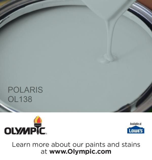 POLARIS OL138 is a part of the neutrals collection by Olympic® Paint.