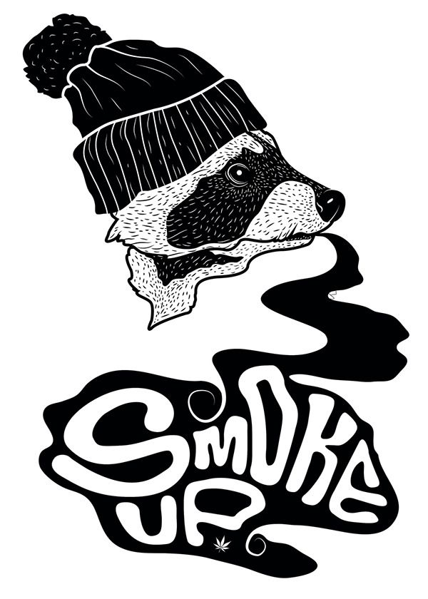 SMOKE UP  by scifuentes ., via Behance