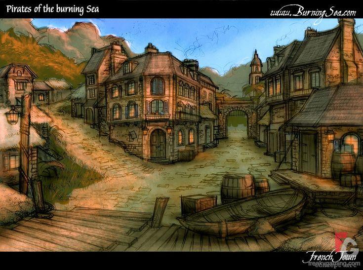 Pirates of the burning sea concept art - photo#7