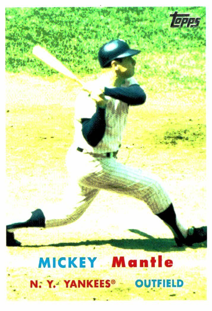 Buy 2008 Topps Story Mickey Mantle New York Yankees At Jm Collectibles For Only 2 00 Mickey Mantle Mantle New York Yankees
