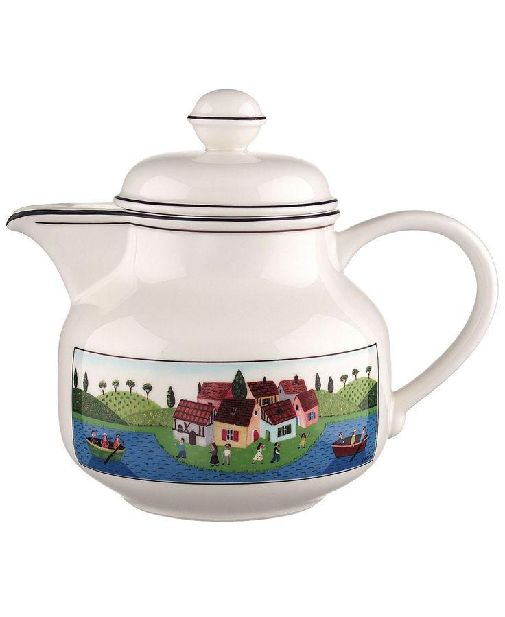 Villeroy & Boch Dinnerware, Design Naif Teapot