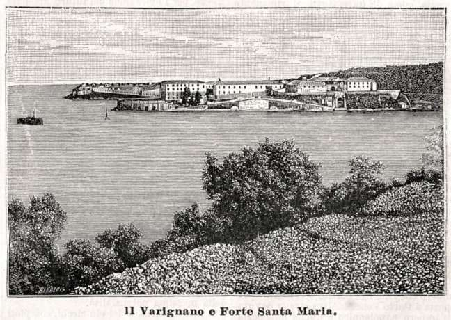 "The Fortress of Varignano - Portovenere, Italy - was erected in 1724 under the rule of the Republic of Genoa. It was used initially as a storage area for goods and as a lazzaretto, or quarantine station for maritime travelers. In 1808, it was converted into a military station under the Napoleonic regime. Eventually it was also used as a high-security prison and a military hospital. It even hosted Italian general and nationalist Giuseppe Garibaldi, one of Italy's ""fathers of the fatherland""."