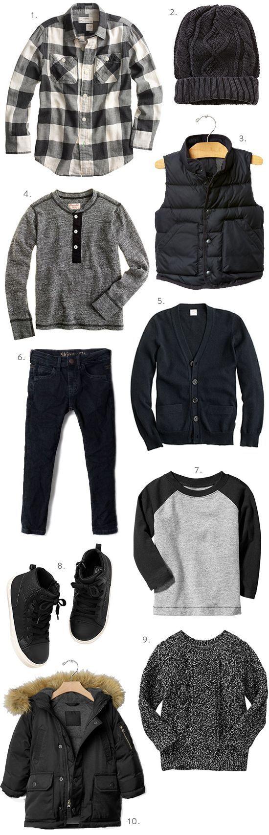 cool Boys Fall Fashion Black is Back | Sweet Little Peanut                                                                                                                                                                                 More