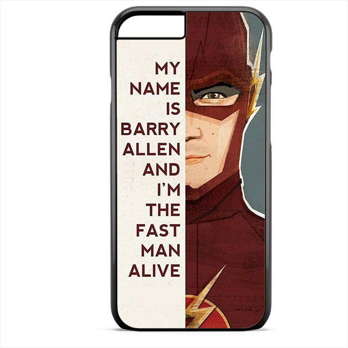 The Flash Quotes Phonecase For Iphone 4/4S Iphone 5/5S Iphone 5C Iphone 6 Iphone 6S Iphone 6 Plus Iphone 6S Plus