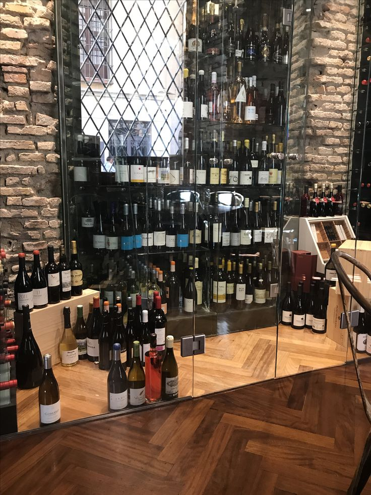 Wine cellar at La Deriva , Malaga, Spain
