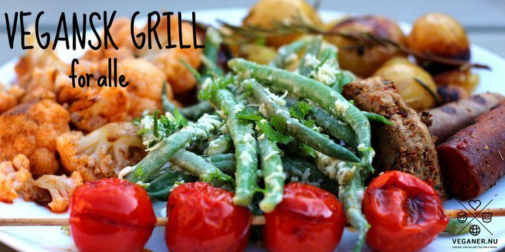 Sommertid er grilltid - ikke mindst for plantespisere, der har et utal af veganske muligheder på grillen.