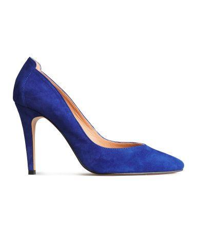 Blauwe pumps H&M NL