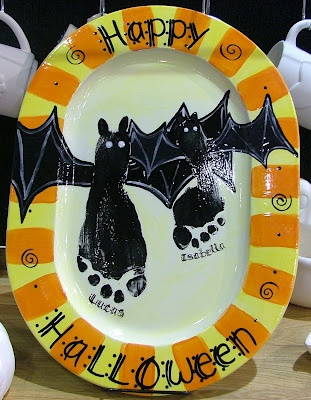 Picasa Web Albums: Crafts Ideas, Holidays Crafts, Bats Feet, Halloween Crafts, Holidays Ideas, Bats Plates, Halloween Feet Diy Plates, Pictures 044 Jpg, Halloween Ideas
