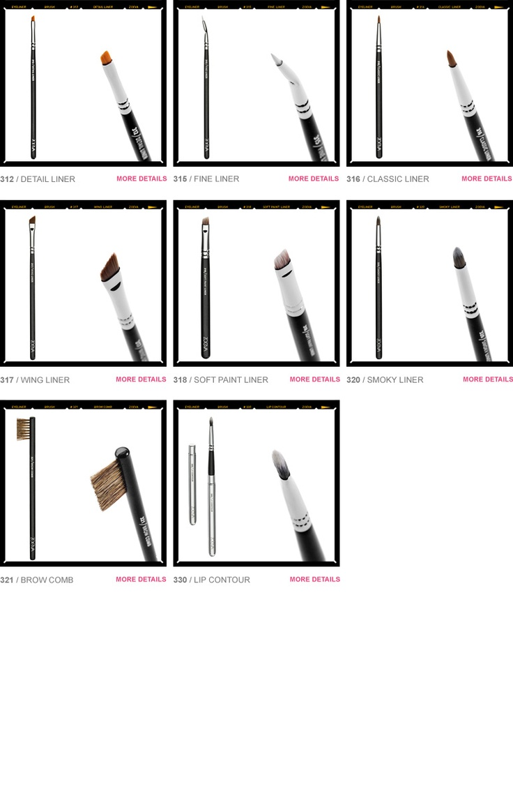 ZOEVA Brush Guide - Eyeliner • Zoeva Shop - Color. Love. Makeup.