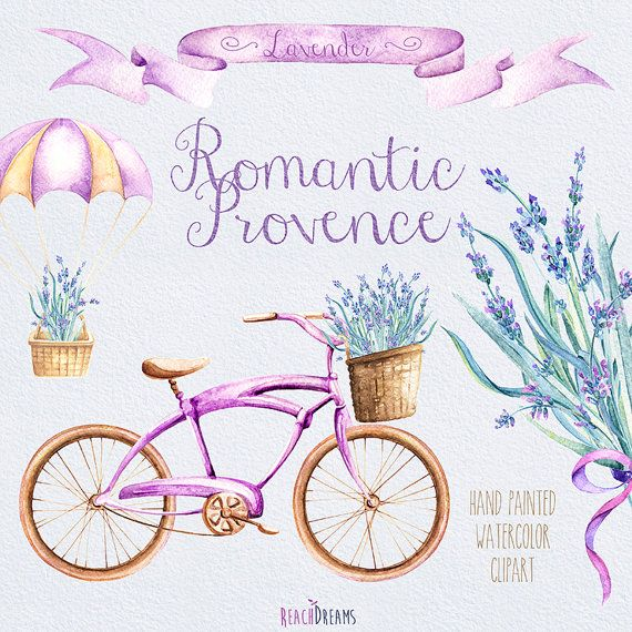 Vintage Bicycle with Lavender Bouquet Parachute от ReachDreams