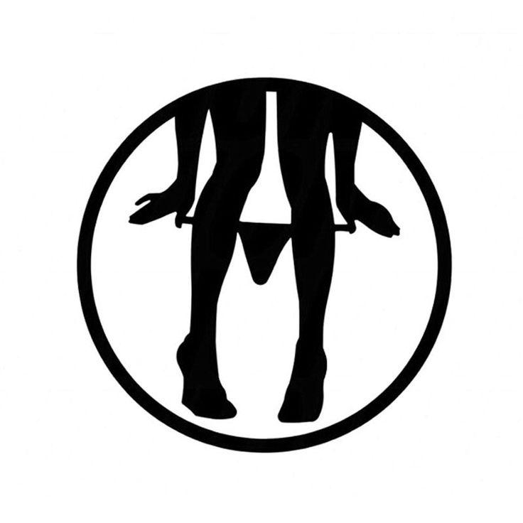 8*8 CM Panty Dropper Decalcomanie Autoadesivo Auto Divertente Cartone Animato Moto Decalcomanie Car Styling C2-0353
