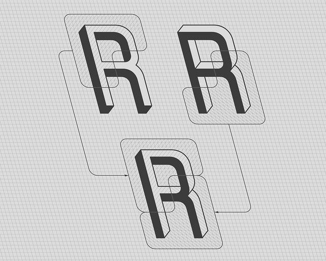 A Brain-Breaking #Typeface Where Every Letter Is An Optical Illusion. Frustro is the work of Martzi Hegedűs, a 25-year-old graphic designer at the Hungarian University of Fine #Arts.
