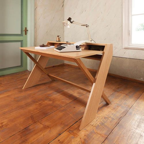 ravenscroft wood desk designer Leonhard Pfeifer