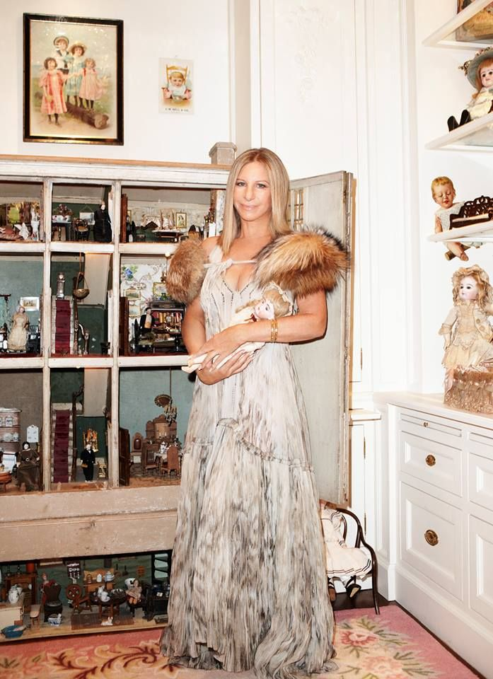 barbra streisand roberto cavalli miniature dolls doll houses fashion