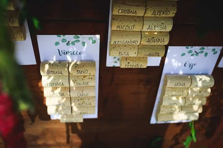 6 Temi Per Un Tableau De Mariage Originale Mariage Tema Matrimonio