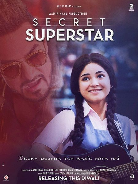 Secret Superstar 2017 300MB 480p HDCam Hindi Pre-DVDRip | Films in