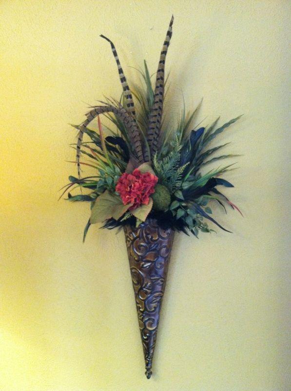 701 best Home Decor: Floral Arrangements images on Pinterest   Silk ...