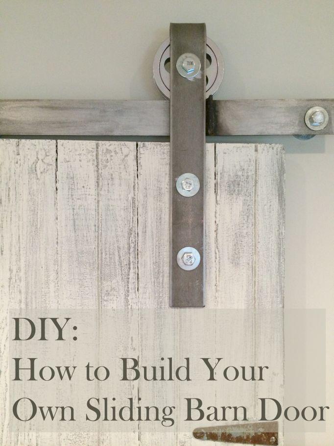 Great DIY for sliding door mechanism