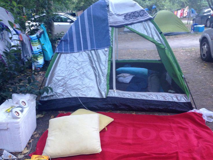 Armenistis camping