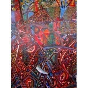 Fruit Salad Acrylic on Canvas - Emmanuel Lobulu
