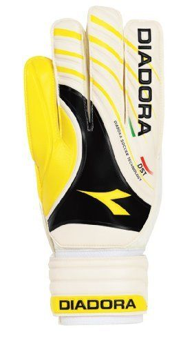 Diadora Kobra Goal Keeper Gloves (White/Yellow, 9) by Diadora. $11.32. Diadora Kobra Goalie Gloves