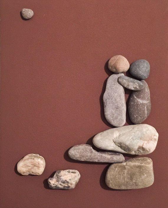 Stone people-Lovers by LiseStones on Etsy