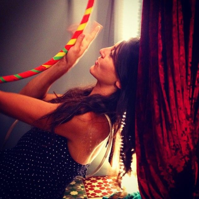 your Hula Hoop ..  at the size color and specifications that you want ...