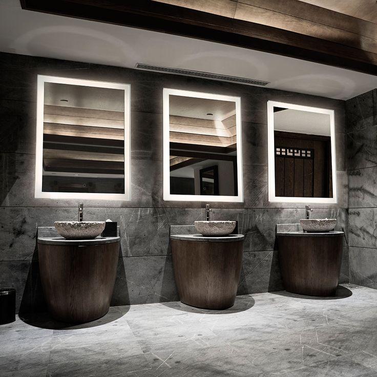 Fresh LED Mirrors bathroom lighting interior decorating trends LED