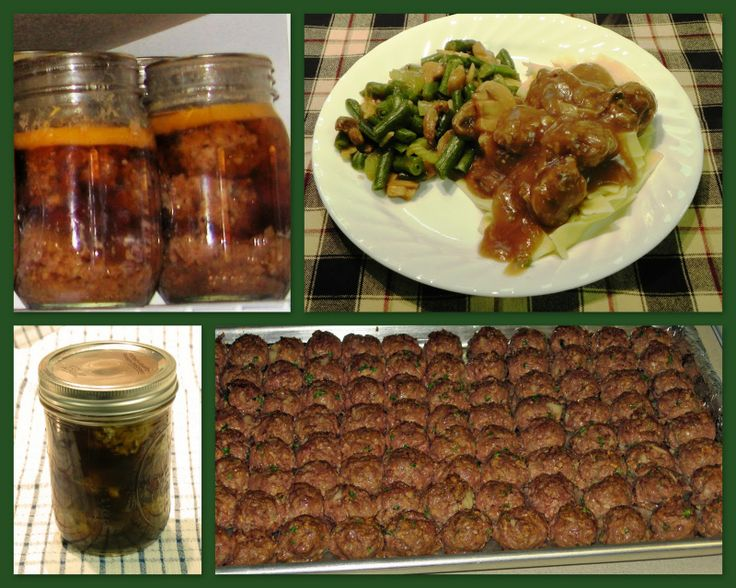 The Iowa Housewife: Home Canned Meatballs