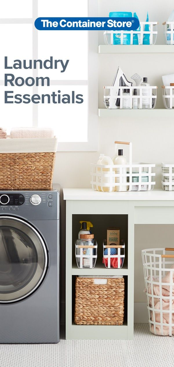 Great Storage And Organization Options For Your Laundry Room