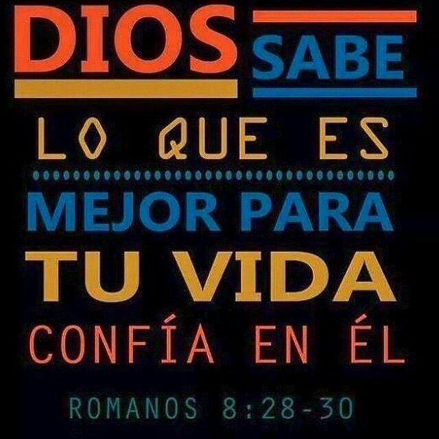 Amado #Dios...confiamos en ti y sabemos que en ti todo obra para bien! #Gracias por tu #amor! ツ