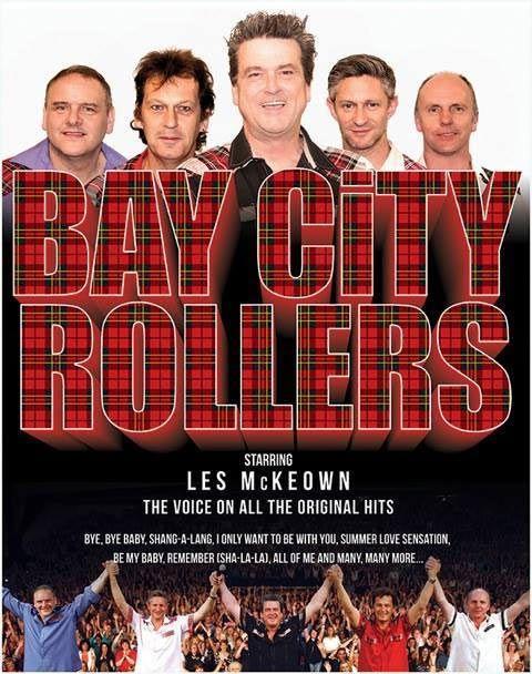 Bay City Rollers staring Les  McKeown Dublin & Belfast  February 2015