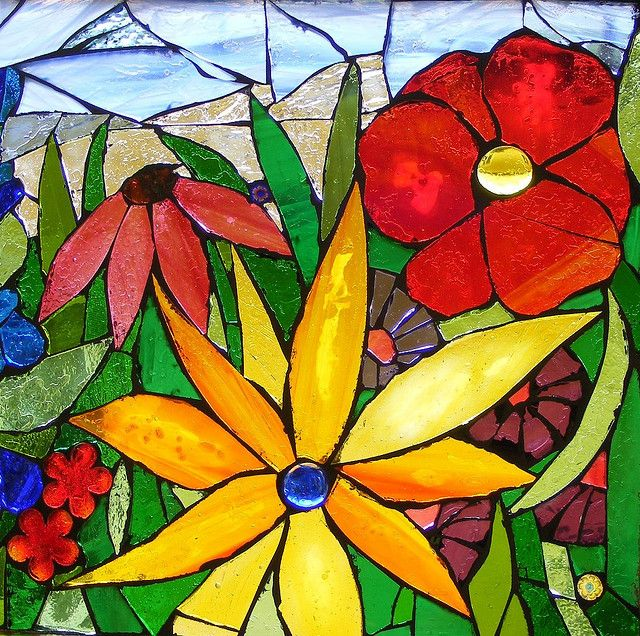 Mosaic window - detail 3