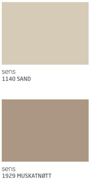 Sand og Muskatnøtt Jotun