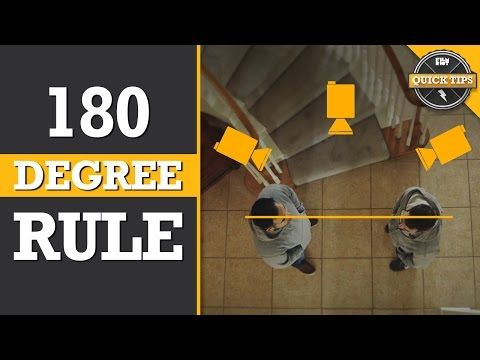 Quick Tips: Understanding The 180 Degree Rule! - YouTube | great explanation of the 180 rule and why should think carefully before braking it.