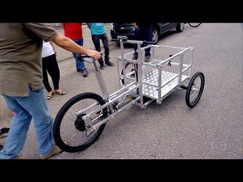 Fantástico - Fab Lab, Faça Você Mesmo: bicicleta elétrica facilita a vid...