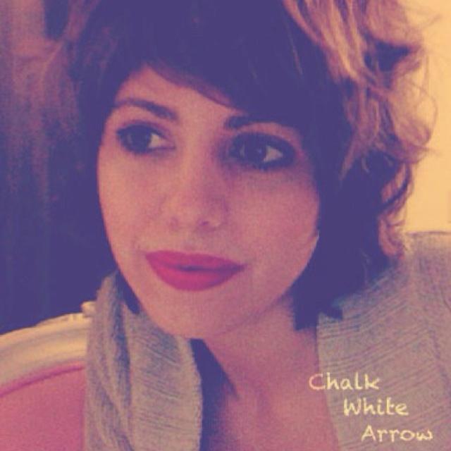 Chalk White Arrow Blog Check it out