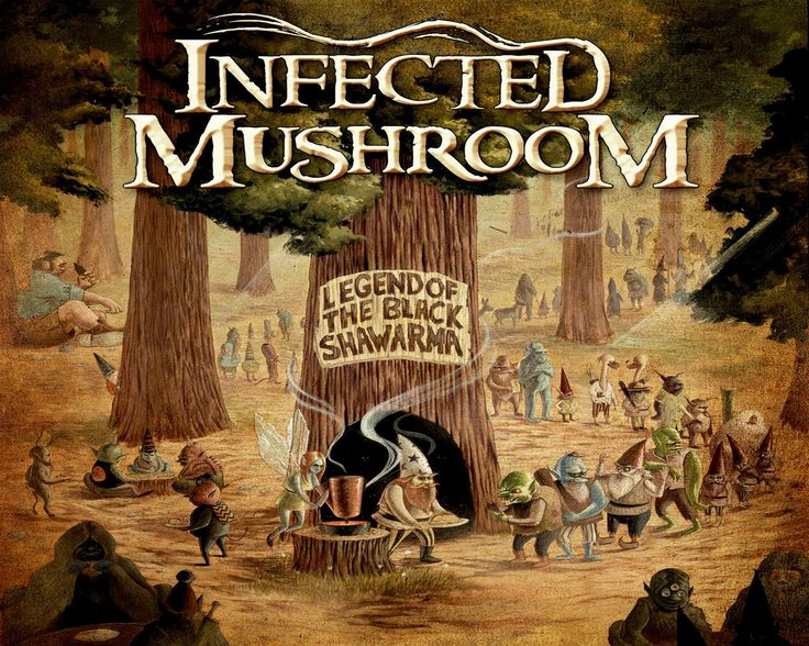 INFECTED MUSHROOM psychedelic trance electro house electronica electronic rock industrial disc jockey 1imush artwork fantasy poster