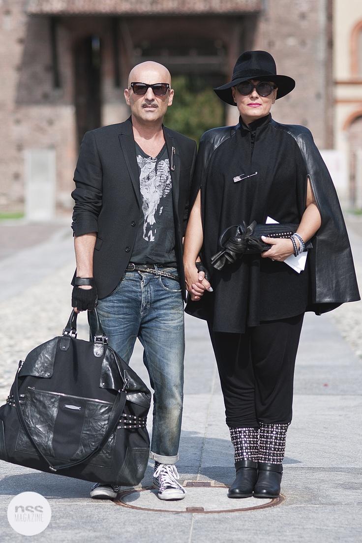 Milan's streetstyle by Mattia Arioli