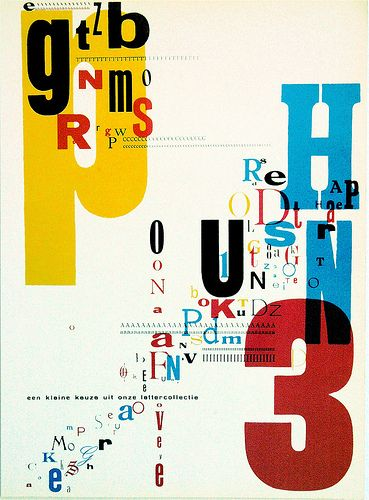 Type experiment by Piet Zwart repinned by Awake — http://designedbyawake.com