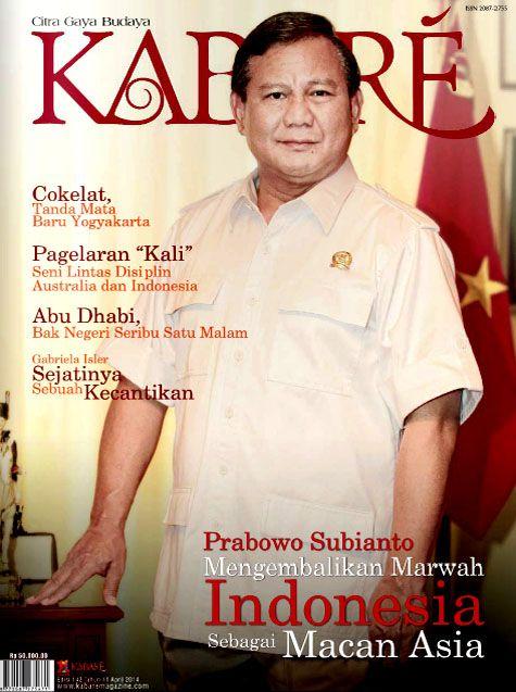 Kabare Magazine edisi April 2014
